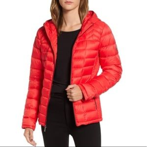 Michael Kors Hooded Packable Down Puffer Jacket